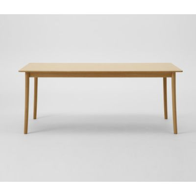 Lightwood Table 240 (Rectangular Wood Top) by MARUNI