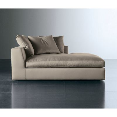 Louis Plus Chaise Longue by Meridiani