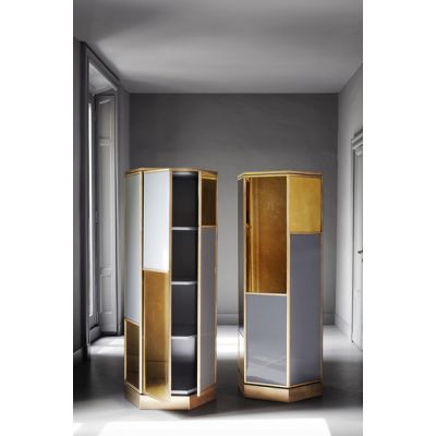 Ludwig Hexagonal cabinet by Meridiani