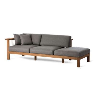 Maro Chaise Longue Arm Left by Oasiq