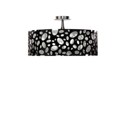 Moon ceiling lamp black by MANTRA