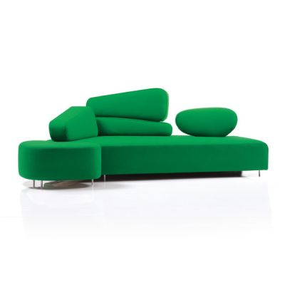 mosspink Seatingscape with stool by Brühl
