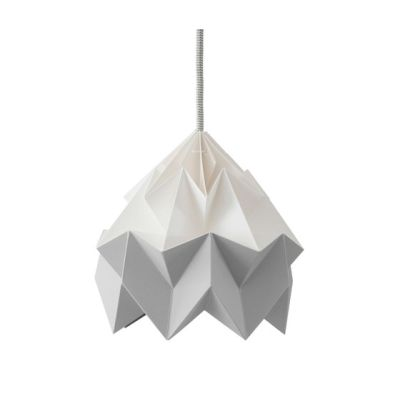 Moth Lamp - White/Grey by Studio Snowpuppe