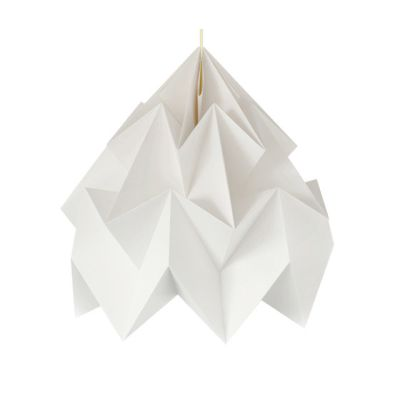 Moth XXL Lamp - White by Studio Snowpuppe