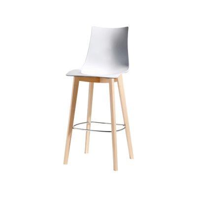 Natural Zebra Antishock stool by Scab Design