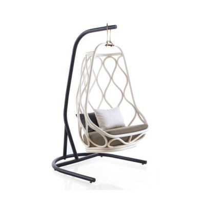 Nautica outdoor swing chair with base by Expormim