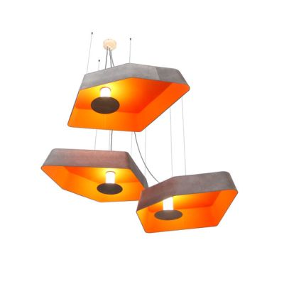 Nenuphar Trio Pendant light large LED by designheure