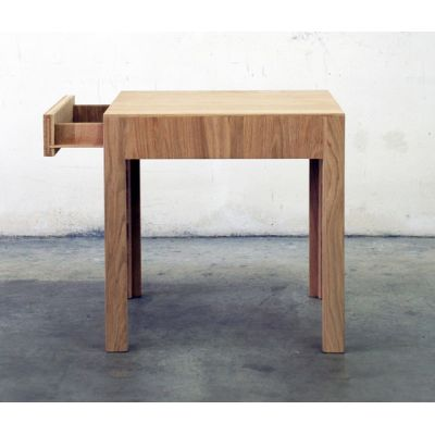 NF 37DT Stooltable with storage-unit by editionformform