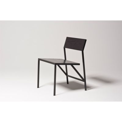 Noir Dining Chair by Farrah Sit