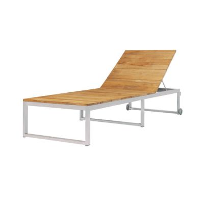 Oko Lounge sun lounger by Mamagreen