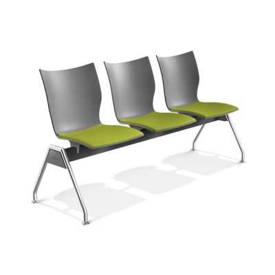 Onyx Beam Seating 2431/99 by Casala