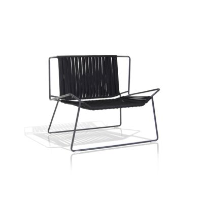 Out_Line Hand-woven armchair by Expormim