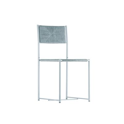 paludis chair 150 chrome steel,light grey