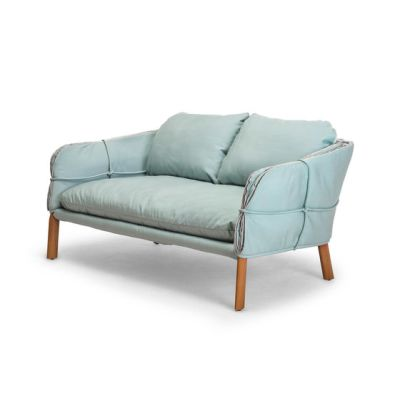 Parchment Loveseat by Kenneth Cobonpue