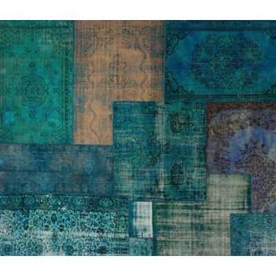 Patchwork Decolorized blue by GOLRAN 1898