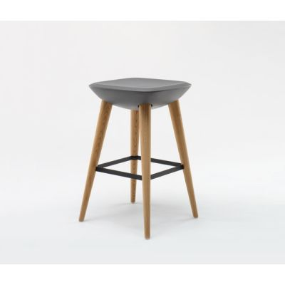 Pebble Barstool by De Vorm