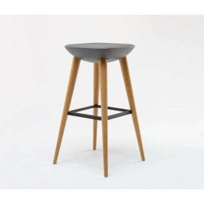 Pebble Barstool XL by De Vorm