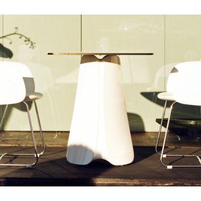Pezzeetina Dining Table - 90 x 90 x 73 White