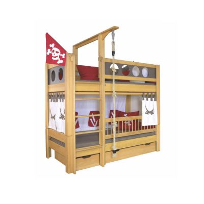 Pirate Bunk bed with drawers DBA-202.8 by De Breuyn