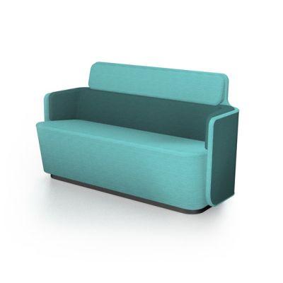 PodSofa with low backrest by Martela Oyj