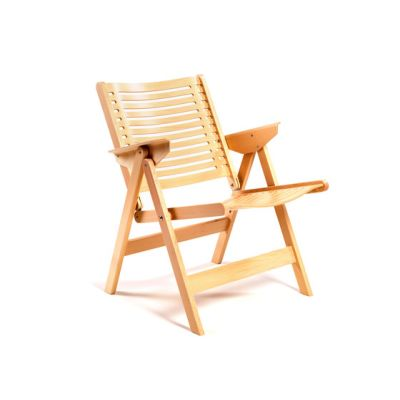 Rex Lounge Chair beech natural by Rex Kralj
