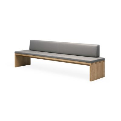 SC 02 Bench partially upholstered by Janua / Christian Seisenberger