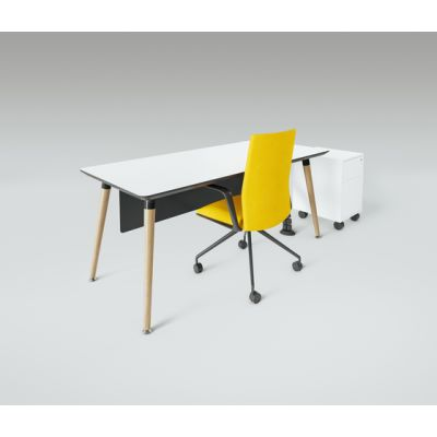 Scando Single office desk by Ergolain