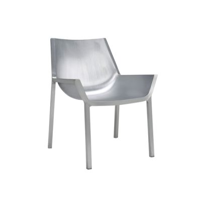 Sezz Lounge Chair Hand Brushed