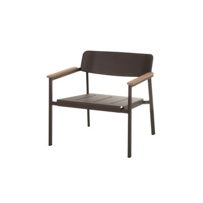 Shine lounge chair - set of 2 Indian Brown