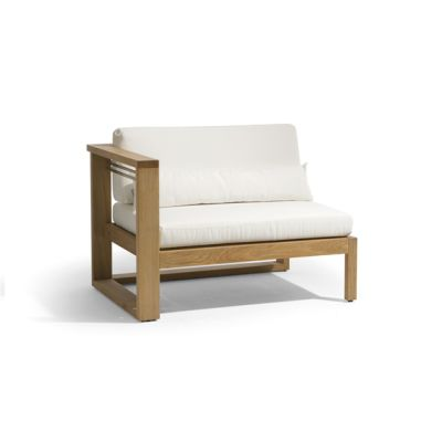 Siena lounge right seat by Manutti