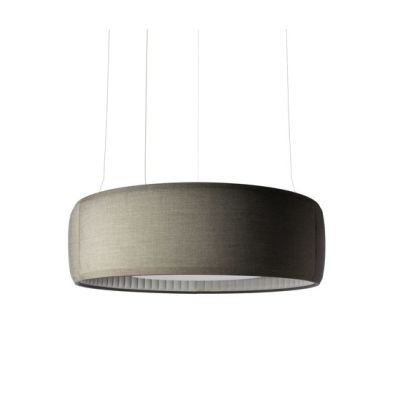 Silenzio Ceiling, Ø 148.5cm,dark grey 152