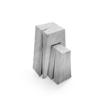 SK 02 Cube Side Table and Stool by Janua / Christian Seisenberger