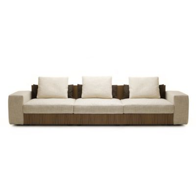 Sofa So Wood | 3-seater sofa by Mussi Italy