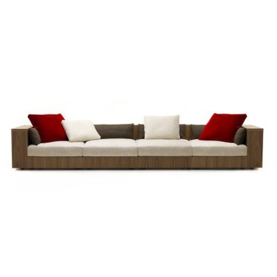 Sofa So Wood | 4-seater sofa by Mussi Italy