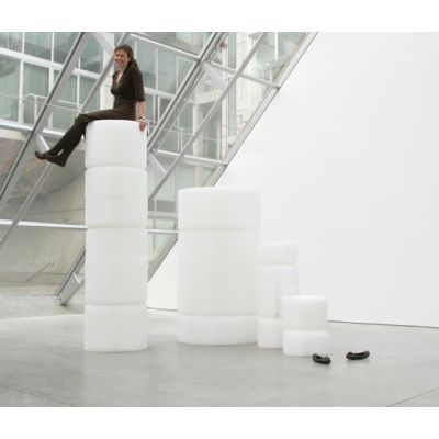 softseating | white textile softseating by molo