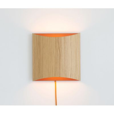 Sophie wall oak copper with cable by lasfera