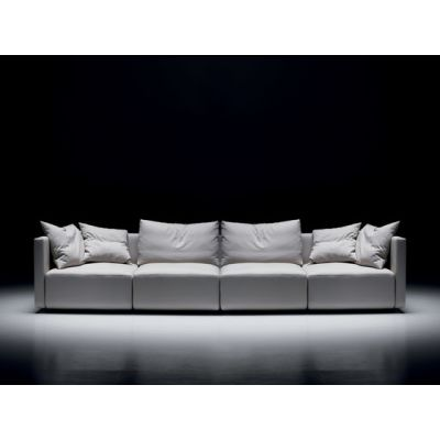 Square | 4-seater sofa by Mussi Italy