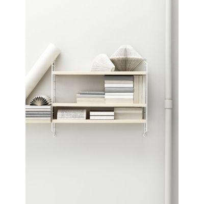 string pocket ash/white by string furniture
