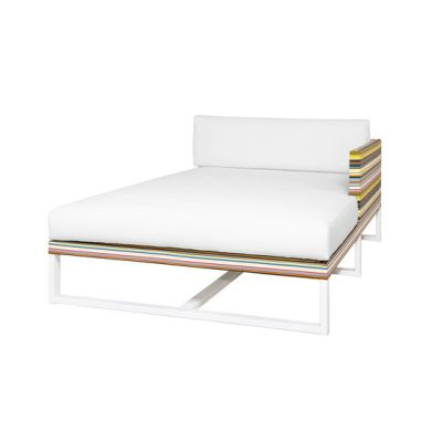 Stripe left chaise by Mamagreen