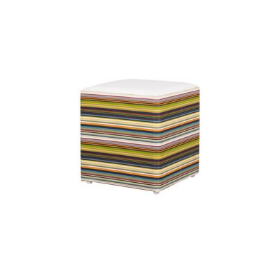 Stripe stool horizontal by Mamagreen