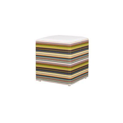 Stripe stool horizontal by Mamagreen