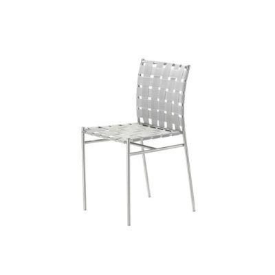 tagliatelle outdoor chair 715 textured white,white/grey