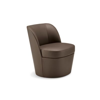 Tam Tam lounge armchair mono | bi-material by Frag