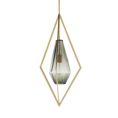 Tetra Pendant Light - Smoke by Farrah Sit