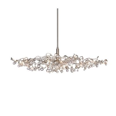 Tiara Diamond oval pendant light 15 by HARCO LOOR