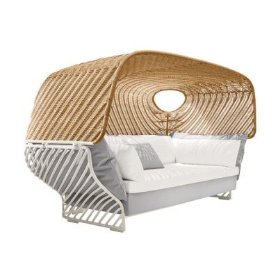 Tigmi Deep sofa with roof by DEDON