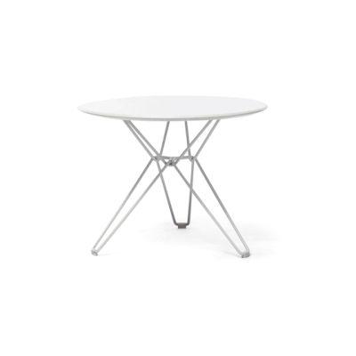 Tio Circular Low Table Laminate Ø:60 H:42 cm White - Laminate