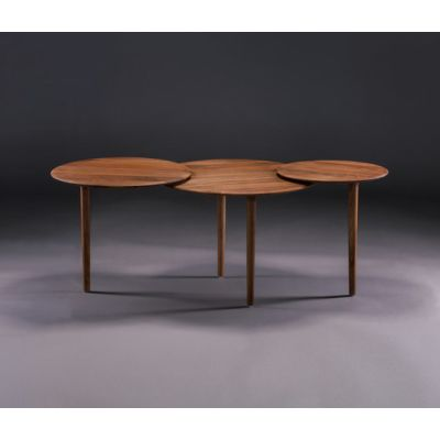 Triple Coffee Table by Artisan