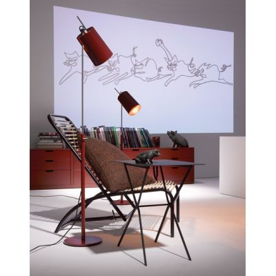 Tuba floor lamp by Anta Leuchten