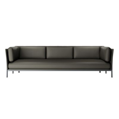 twelve 3 seats sofa 882 ice,28 Seppia leather